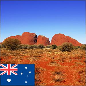 オーストラリア株の位置(2016年1月8日)