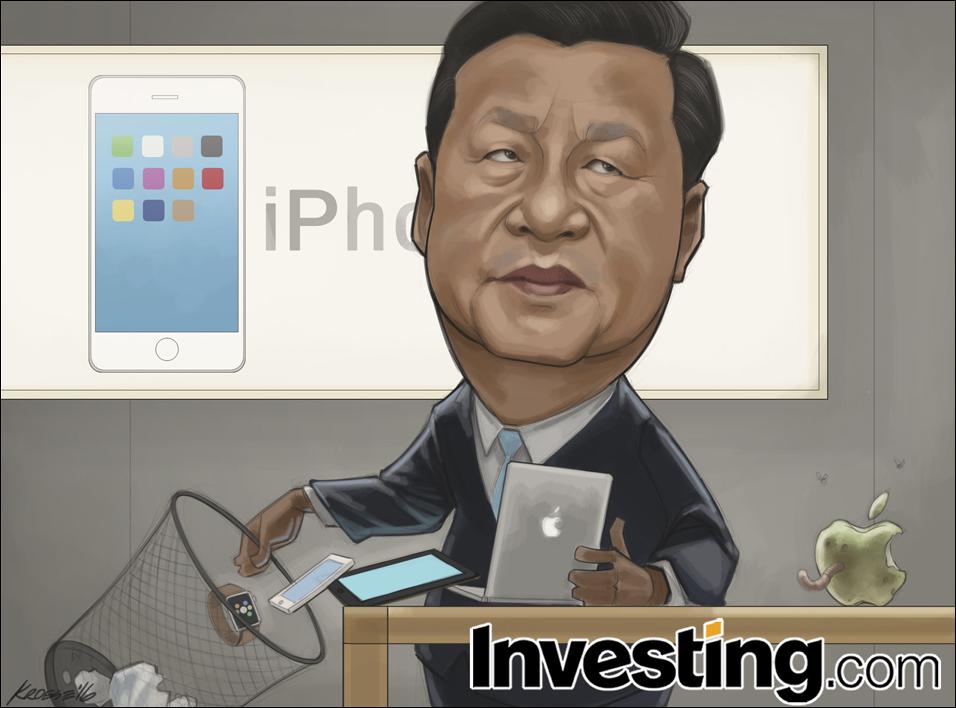 中国の景気減速と新機軸の欠如がアップルをヒット