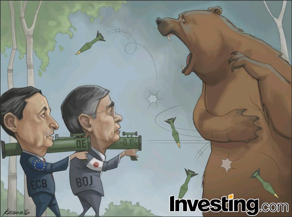 各国中銀は熊(Bear)を追い払う武器を使い果たしつつあるのか?