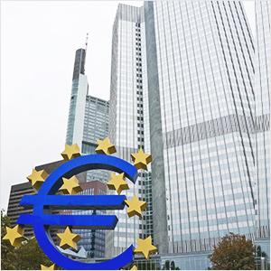 ECB量的緩和縮小計画を発表、ユーロ下落(10/26夜)