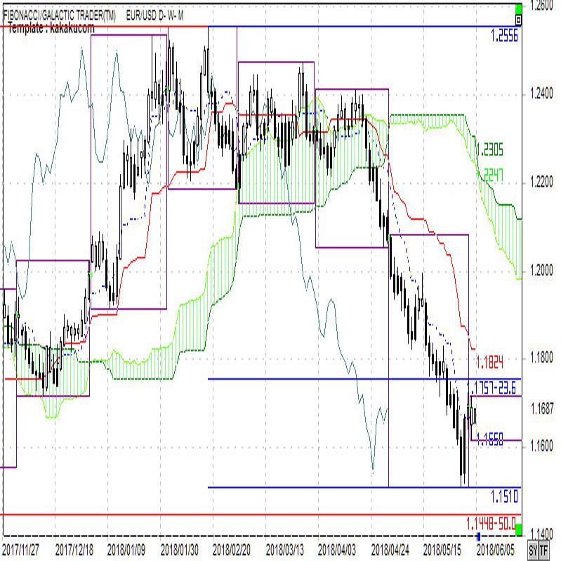 ユーロ短期安値は見たものの戻しは鈍い(週報6月第1週)
