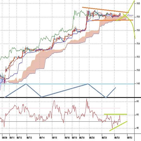 トルコリラ円見通し トルコ中銀の利下げに対する反応は限定的(20/5/22)